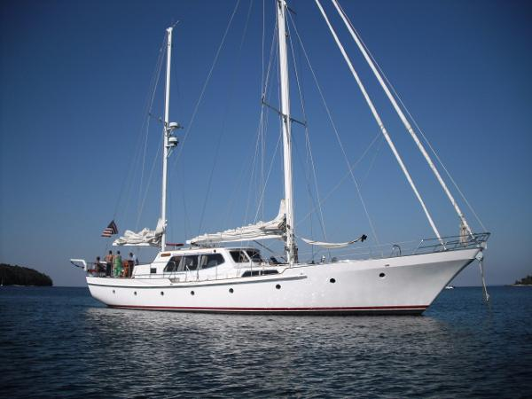 Export Yachts Don Brooke Pilothouse Ketch Don Brooke pilothouse ketch - Altair