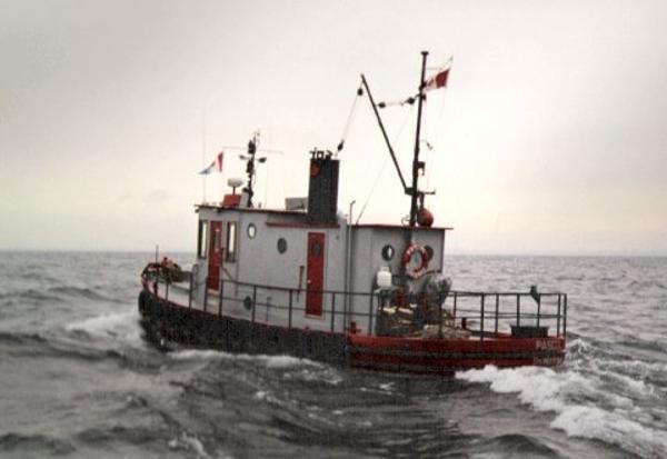 Tugboat Steel Model Bow Tug