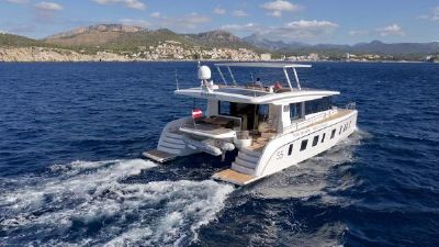 Silent Yachts Silent 55 (DEMO) Aerial Profile