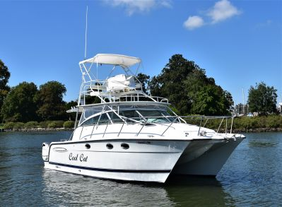 Glacier Bay 3470 Ocean Runner with 2019 Suzuki 350's Glacier Bay 3470 Ocean Runner Profile