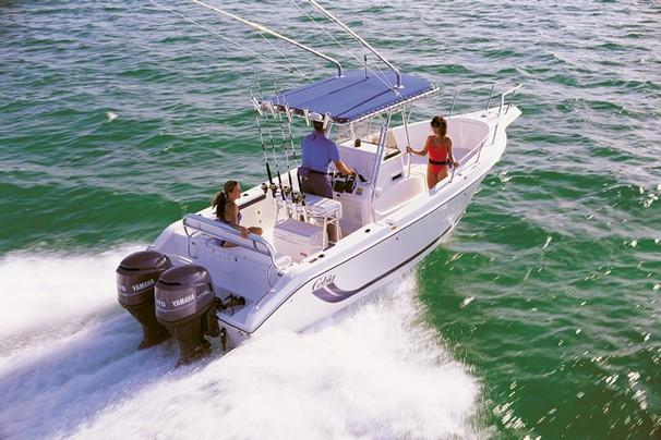 Cobia 254 Center Console Manufacturer Provided Image: 254 Center Console