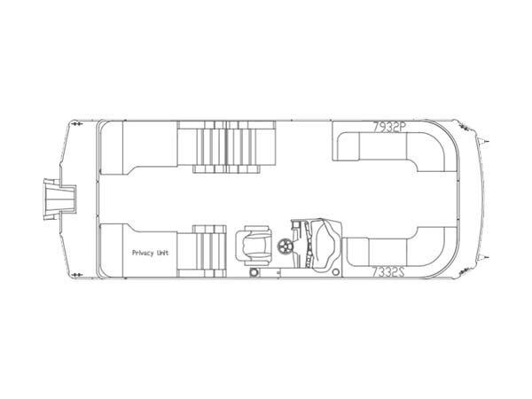 Crest Pontoon Boats Caliber 230 SLR2