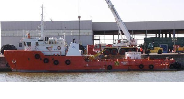 Commercial Vessel Crew Boat N°9