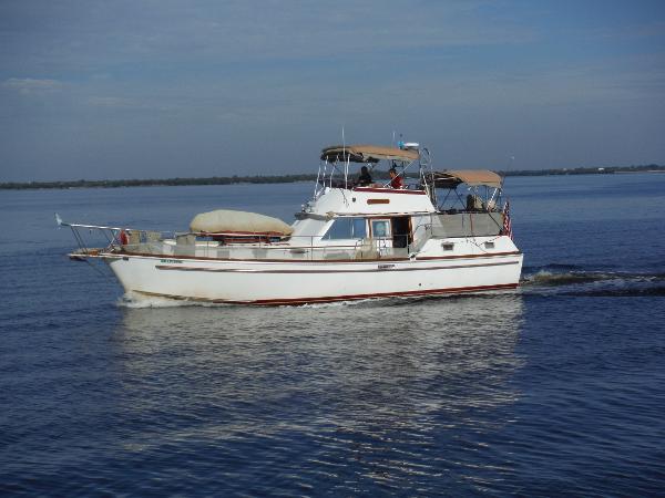 Gulfstar 43 Trawler Mark II 43 Gulfstar Port Profile