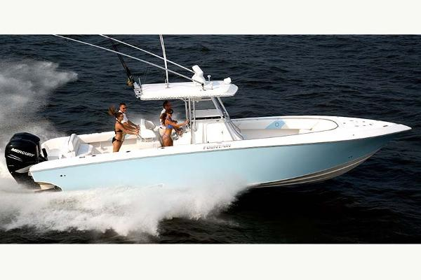 Fountain 34 Sportfish CC Open Bow
