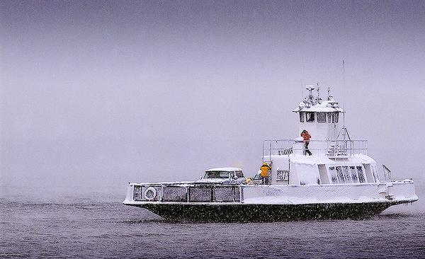 Blount Passenger Auto Ferry MT Mansfield