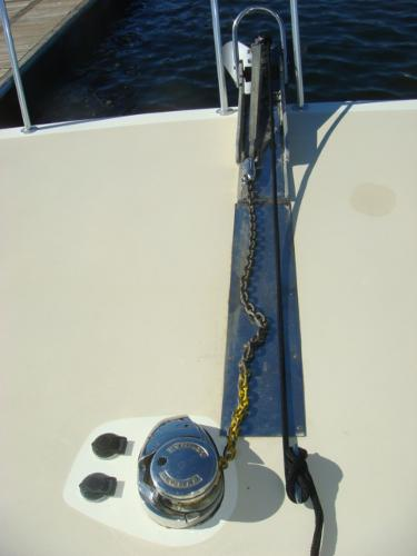 54' Crosswater anchor windlass