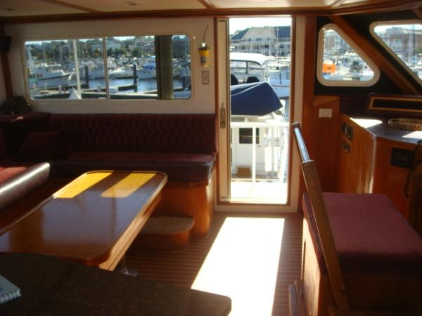 54' Crosswater flybridge port