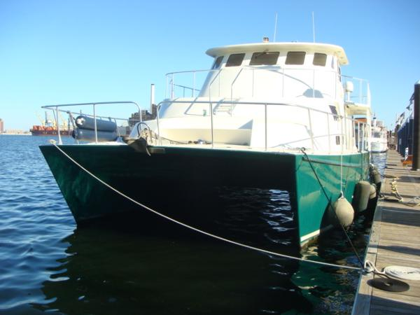 54' Crosswater forward profile