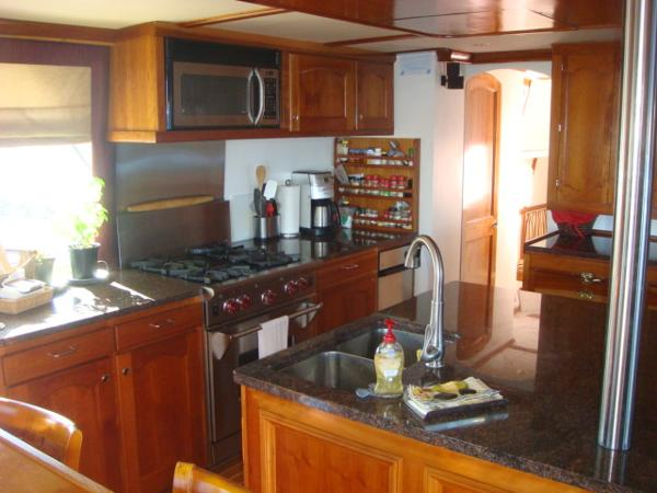 54' Crosswater galley