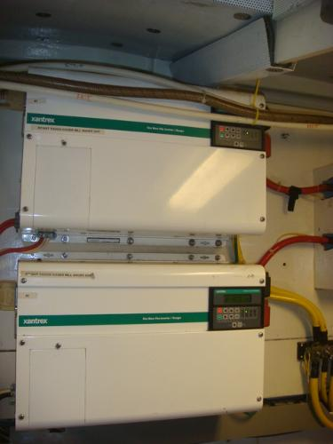 54' Crosswater inverters