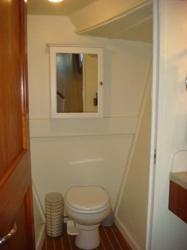 54' Crosswater master stateroom head photo2