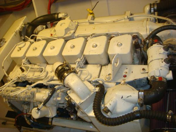 54' Crosswater port main engine