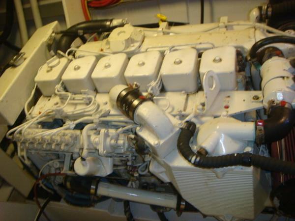 54' Crosswater starboard main engine