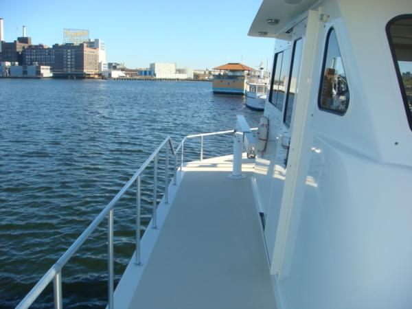 54' Crosswater upper deck starboard photo1