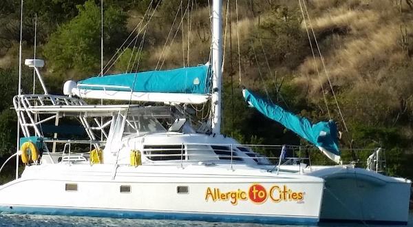 Manta MKII at Anchor