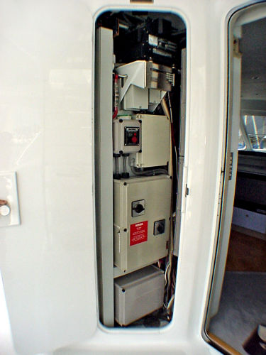 Electrical Room - Cal Deck