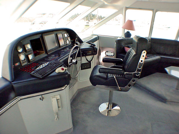 Inside Helm Station/Seating