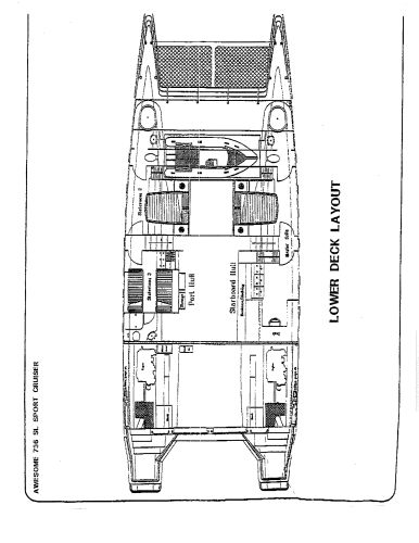 Layout - Lower Deck
