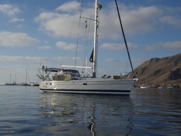 Hunter 466 Cruising Mexico
