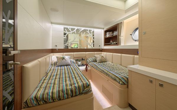 Twin Guest Stateroom A