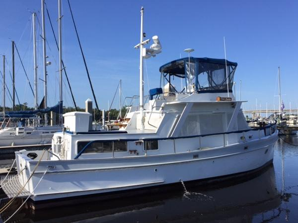 "Monk Trawler 40' Monk ""Old Spice"" starboard"
