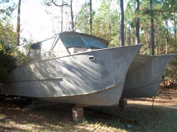 Aluminum Catamaran Hull