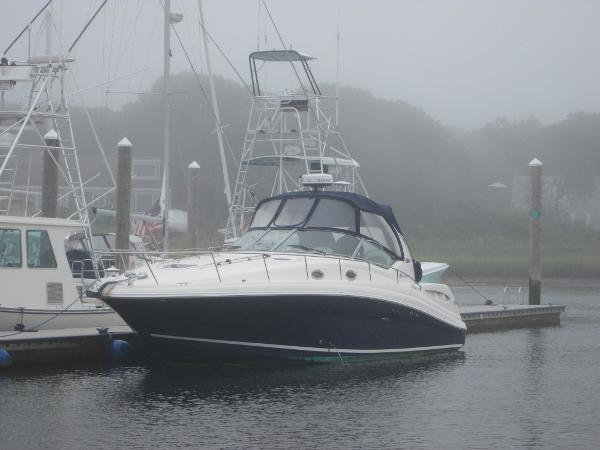 Sea Ray 340 Sundancer FLAG BLUE HULL