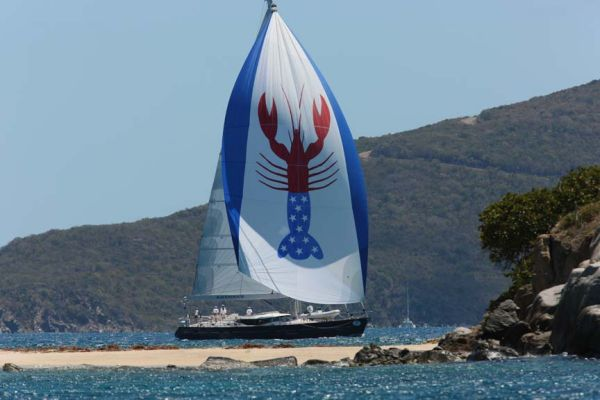 Oyster 82 Deck Saloon BVI Owners regatta