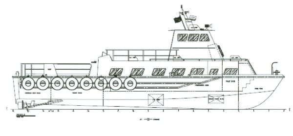 Custom Aluminum Crew/Ambulance Boat
