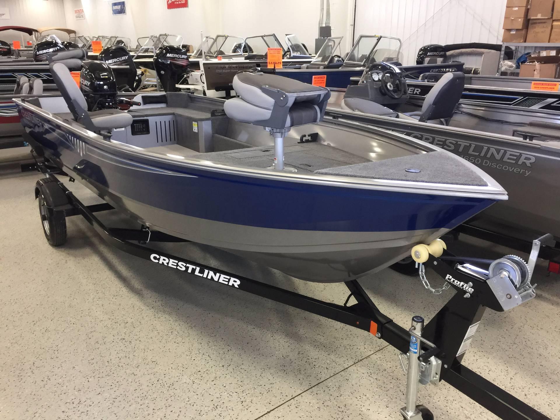 Crestliner 1650 Discovery Tiller