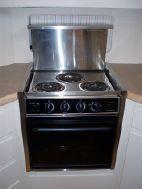 Prince 3 burner electric stove