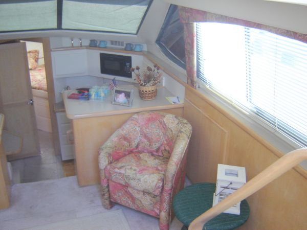 Salon view starboard side