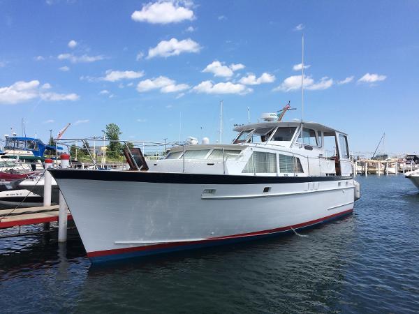 Matthews 45 Flush Deck Motor Yacht