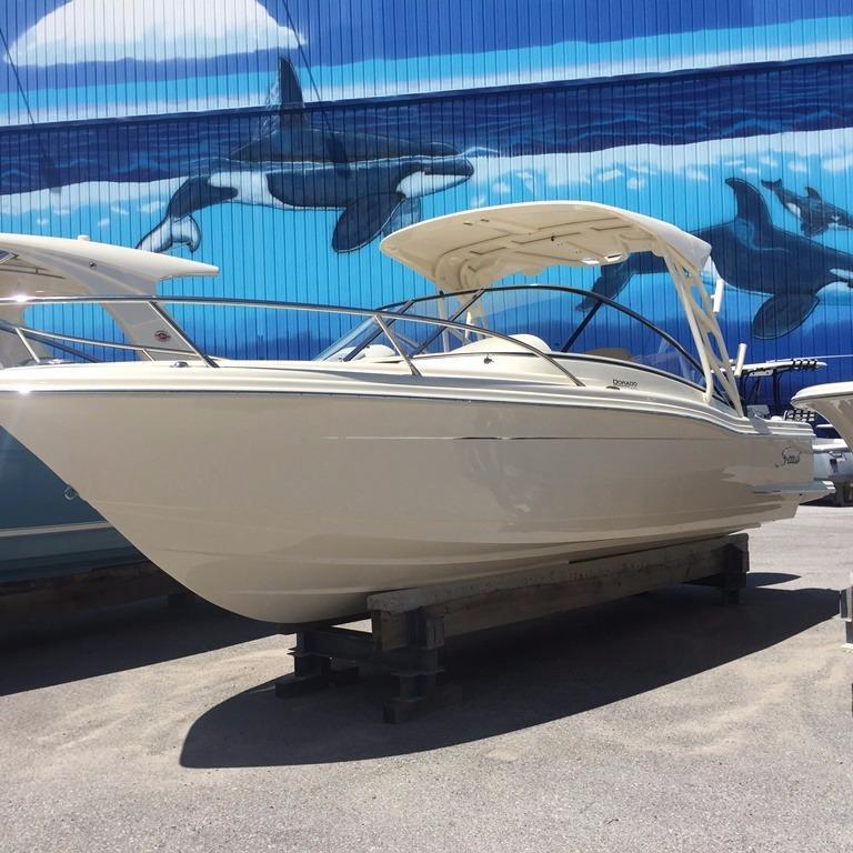 Scout Boat Company 245 Dorado