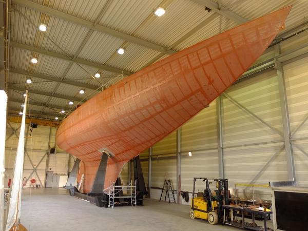 Nathanael G. Herreshoff Two-masted topsail gaff schooner Ingomar