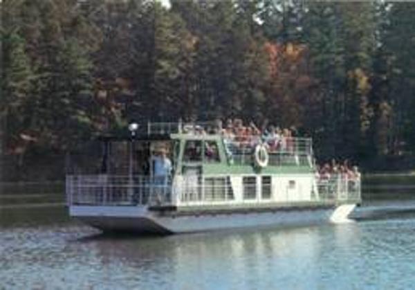 46' x 14' Truckable Steel Hull Passenger Boat /55 Passengers