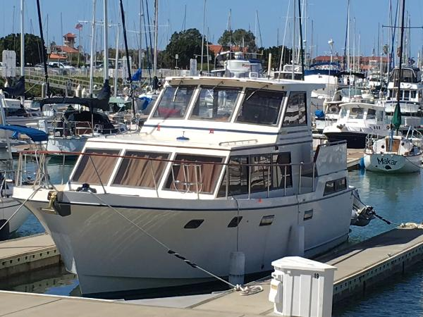 Roughwater Tri-Cabin Trawler