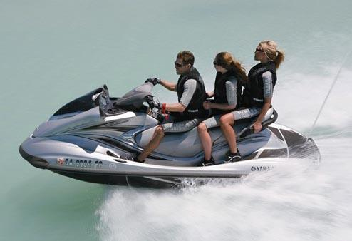 Yamaha WaveRunner FX Cruiser HO Manufacturer Provided Image