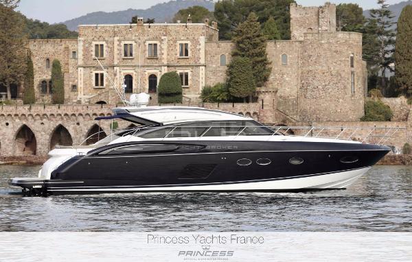 Princess V57 Picture Actual Boat