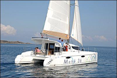 Fountaine Pajot Mahe 36 Evolution Stern