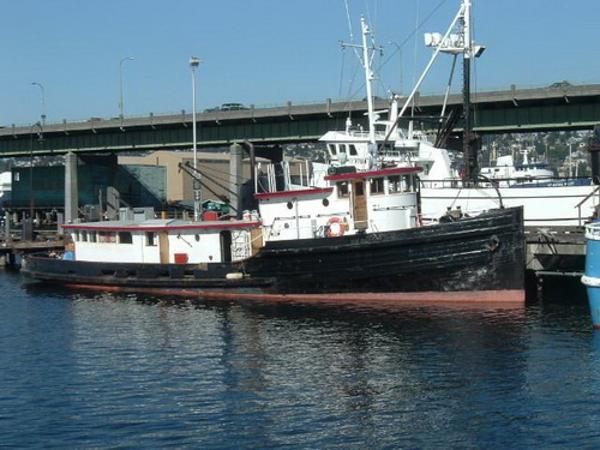 Vancouver Shipyard Tug