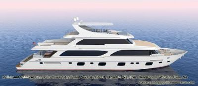 Grand Harbour Motor Yacht 116`Plan View-1