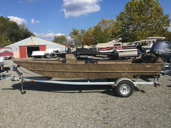 G3 Boats 1860 CCJ Shadowgrass