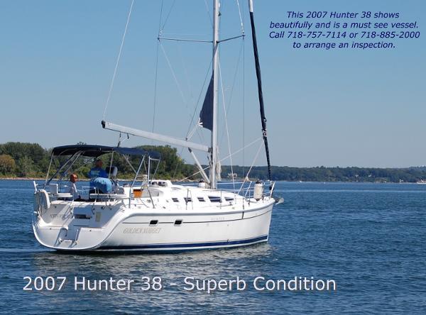 Hunter 38