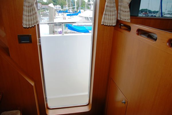 27. Pilothouse port door