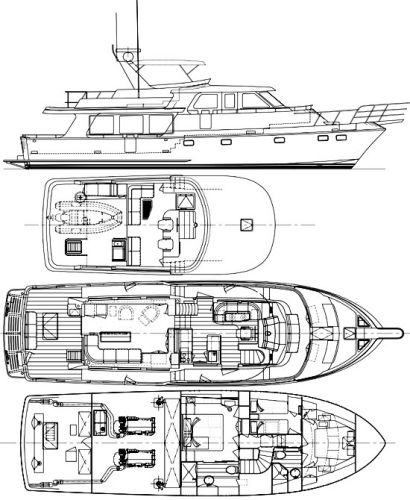 6. Interior & F.B. plan (Stock Boat)