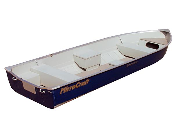 MirroCraft 4650 Outfitter Similar boat shown: MirroCraft 3696 Deep Fisherman.