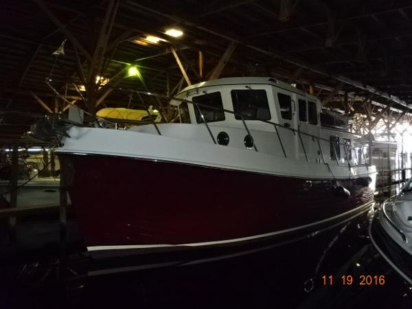 American Tug 41 Pilothouse Trawler 41' American Tug port forward profile