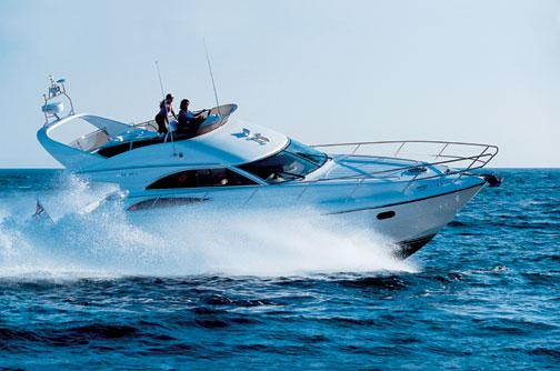 Princess 45 Flybridge Manufacturer Provided Image: Princess 45